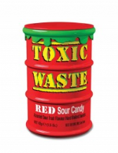 Toxic Waste Red 42g